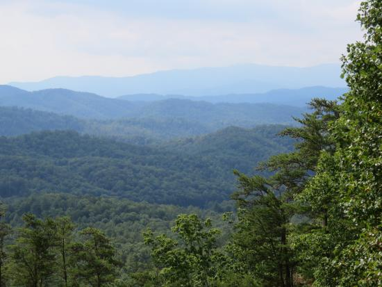 Robbinsville, Carolina del Norte: Beautiful views along the route.