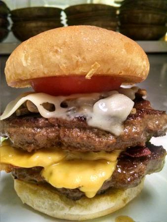 North East, Πενσυλβάνια: Mountain Burger!!