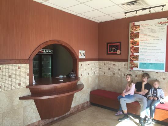 Keller, TX: Interior and Exterior of restaurant