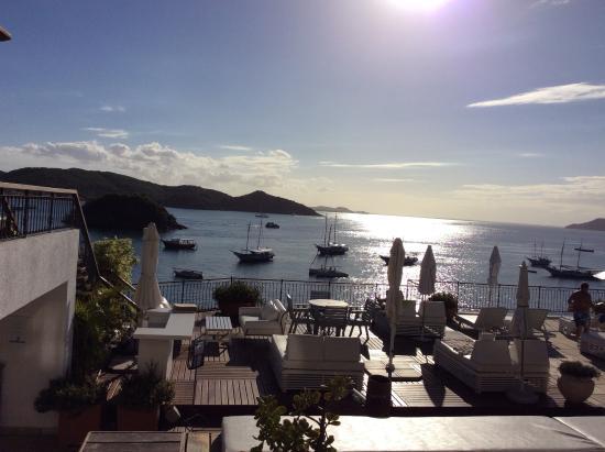 Casas Brancas Boutique Hotel & Spa: View before sunset
