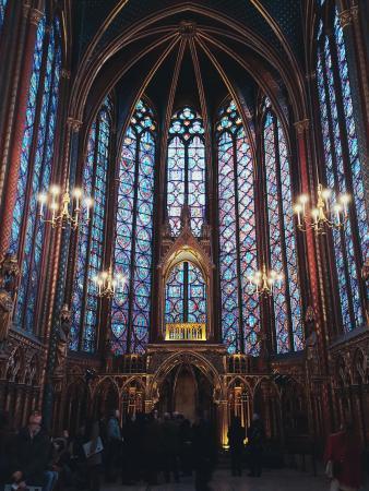파리, 프랑스: 생트 - 샤펠