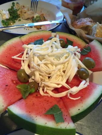 Canterbury, Avustralya: watermelon salad with mexican cheese