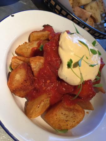 Canterbury, Australien: crispy fried potatoes