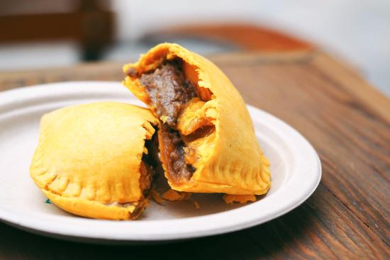 Six Taste: Jamaican patties