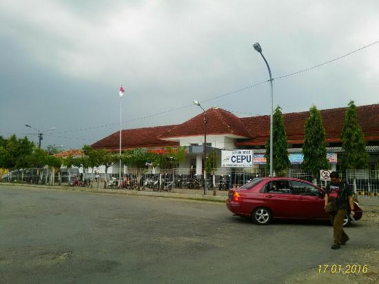 Cepu Railway Station