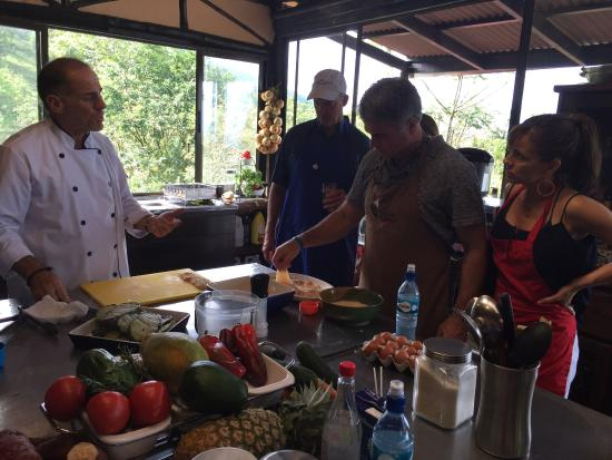 Costa Rica Cooking: Great day cooking with Chef Scott.