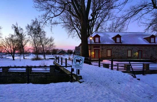 Lachine Fur Trade Museum: Early Morning