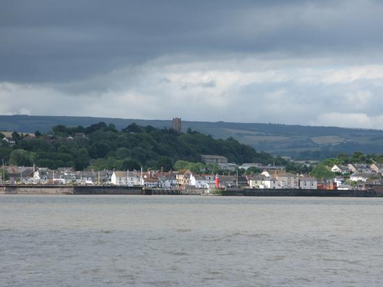 Visiting Watchet and the Ancient Mariner from the sea and Cardiff on THEODOXUS