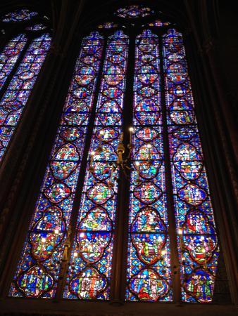 Santa Capilla Sainte Chapelle Interior