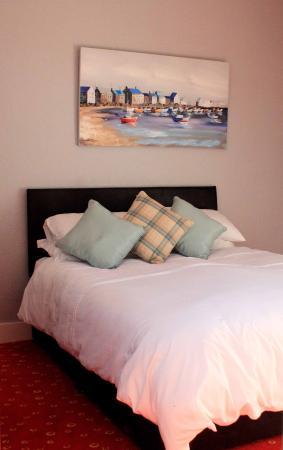 Hadleigh, UK: Double bed