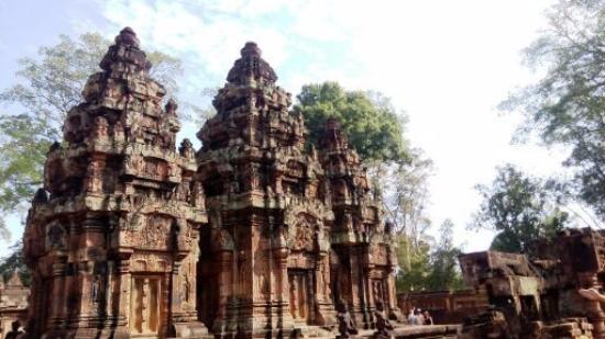 Siem Reap Private Day Tours: Banteay Srei, the prettiest of all temples in my opinion