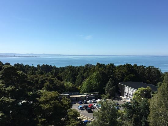 Titirangi, Nowa Zelandia: From the rooftop deck of Lopdell House