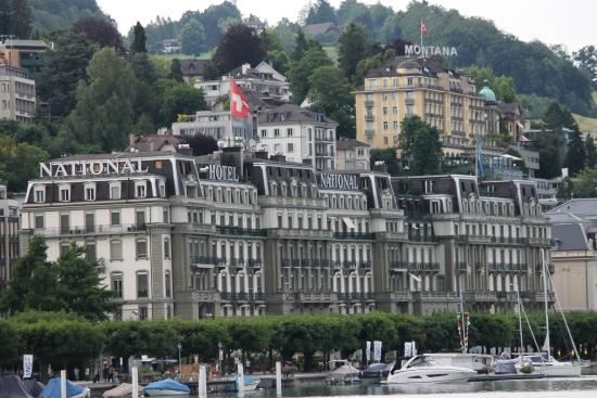 Grand Hotel National Magnificent Overlooking Lake Lucerne