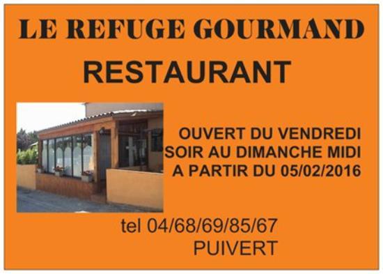 Puivert, Francia: ouverture du restaurant