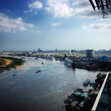 river view from the rooftop picture of liberty central saigon rh tripadvisor ca