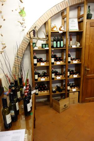 Greve in Chianti, อิตาลี: The wine shop
