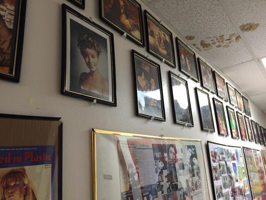 North Bend, WA: Twin Peaks memorabilia