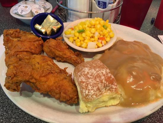 North Bend, WA: chicken and mashed potatoes
