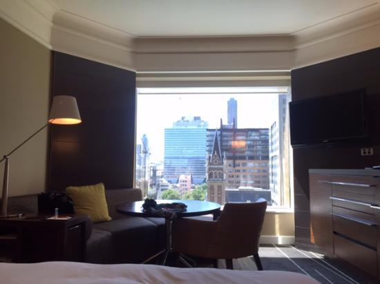 Grand Hyatt Melbourne: The room