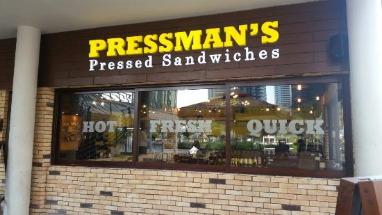 Pressman's Pressed Sandwiches