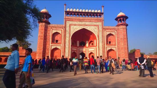 Hotel Taj Plaza: На входе в Тадж Махал