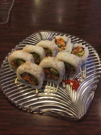 Fijn sushi restaurant in de Altstad