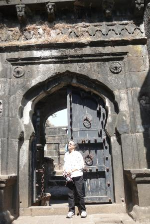 Khandala, Indien: Climbing the fort