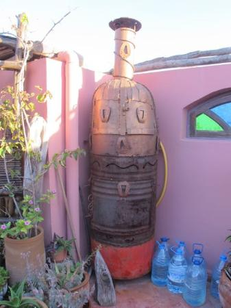 Casa Guapa de Tamuziga: Details from roof terrrace
