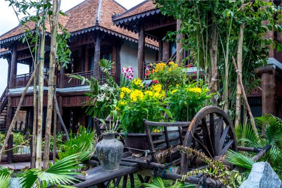 Garden View - Picture of Java Wooden Villa & Residence, Siem Reap ...