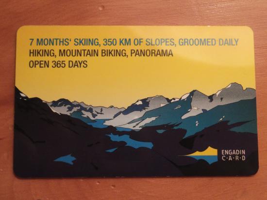 سانت موريتز, سويسرا: エンガディン・カード