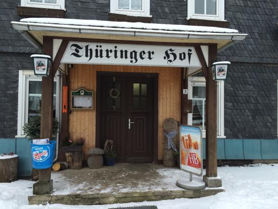 Schmiedefeld am Rennsteig, Deutschland: Gaststätte Thüringer Hof