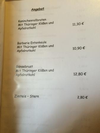 Schmiedefeld am Rennsteig, Alemania: Gaststätte Thüringer Hof