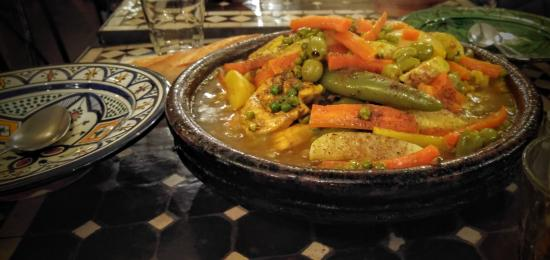 Chez Younice moroccan restaurant: Tajine Royal du chef