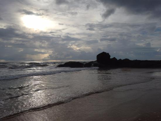 Bentota, Sri Lanka: Вечер на мысу