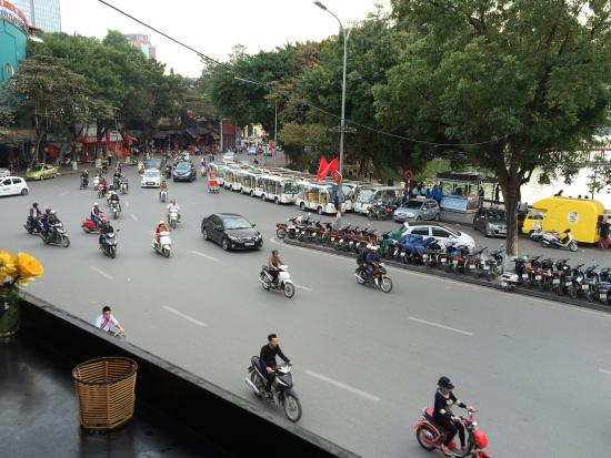 Hanoi Time Coffee: It's about this view...