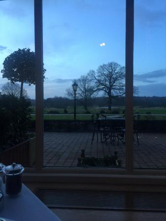 Rockliffe Hall: View from orangery