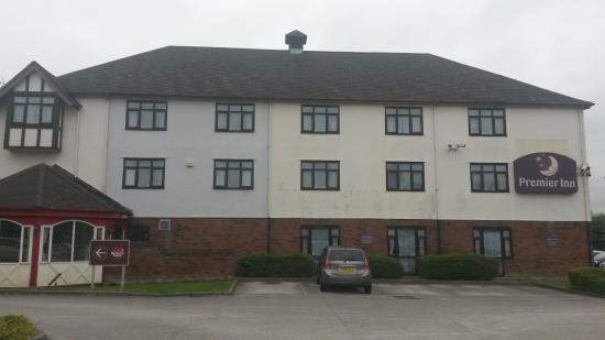 Premier Inn Newport/Telford Hotel: Ample and secure parking