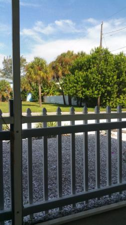 Anna Maria Pirates Den: View from the Screened Porch
