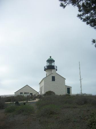 Old Point Loma Lighthouse: lighthouse