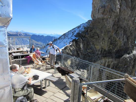 Schonried, Swiss: Mieux vaut ne pas avoir le vertige