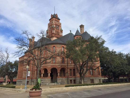 Ellis County Courthouse : Reminds me of the Bishops Palace in Galveston, TX.