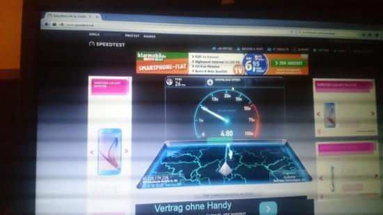 Best Western Premier Hotel Regensburg: Internet Speed