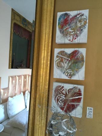 Caffè dell'Arte Boutique Bed and Breakfast : Chambre d'amour Venise