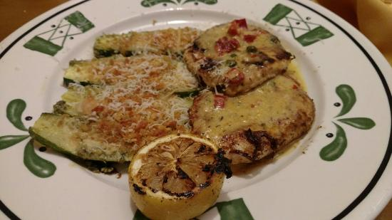 Chicken Piccata On The Lighter Menu Delicious Picture Of Olive Garden Jackson Tripadvisor