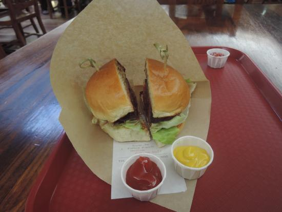 Village Burger: good but higher prices