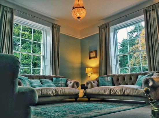 Instow, UK: one of the sitting rooms