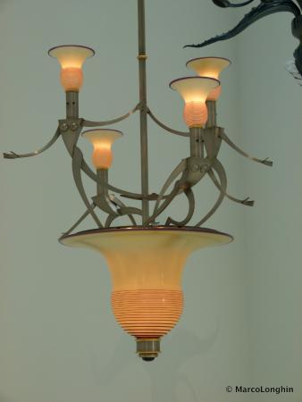Corning, estado de Nueva York: Moder artistic chandelier