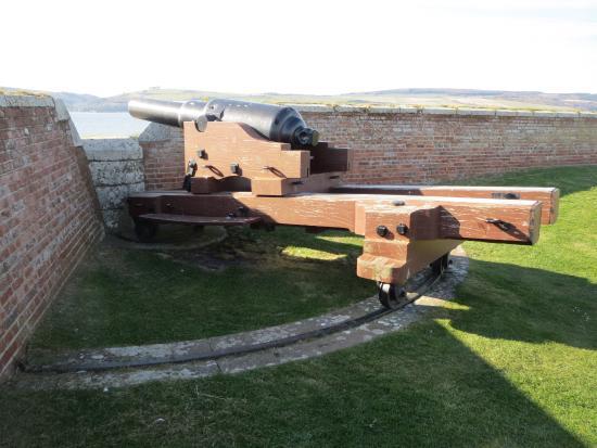 Ardersier, UK: Kanone
