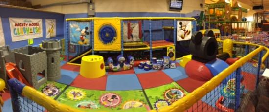 Hockley, UK: our under 5's area
