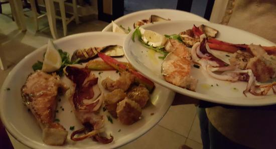 Vibo Valentia, إيطاليا: Grigliata mista